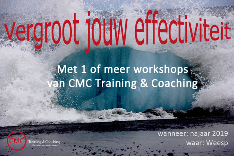 Workshop effectiviteit
